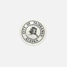 Vintage Fairbanks Alaska Mini Button