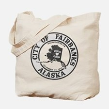 Vintage Fairbanks Alaska Tote Bag