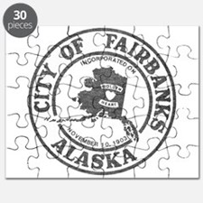 Vintage Fairbanks Alaska Puzzle