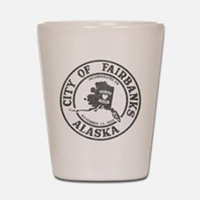 Vintage Fairbanks Alaska Shot Glass