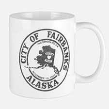 Vintage Fairbanks Alaska Mug