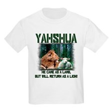 Yahshua, Lion & Lamb! Kids T-Shirt