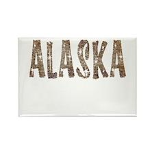 Alaska Coffee and Stars Rectangle Magnet