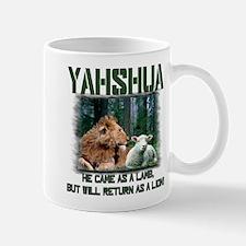 Yahshua, Lion & Lamb! Mug