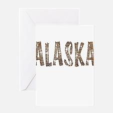 Alaska Coffee and Stars Greeting Card