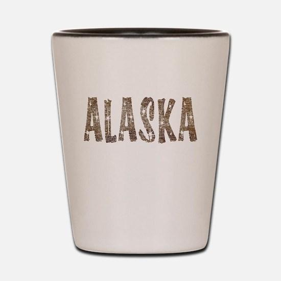 Alaska Coffee and Stars Shot Glass