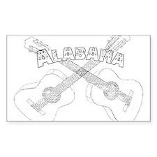 Alabama Guitars.png Decal