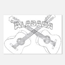 Alabama Guitars.png Postcards (Package of 8)