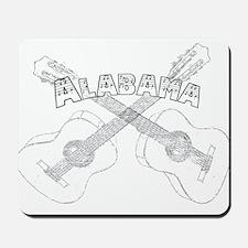 Alabama Guitars.png Mousepad