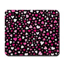 'Night Hearts' Mousepad