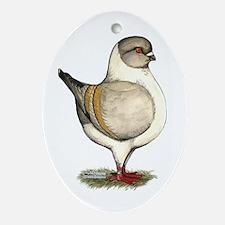 Modena Silver Gazzi Ornament (Oval)