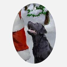 Labrador Retriever Ornament (Oval)