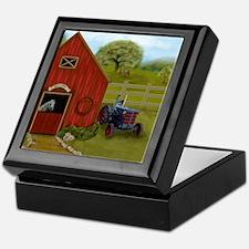 The Horse Barn Keepsake Box