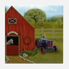 The Horse Barn Tile Coaster
