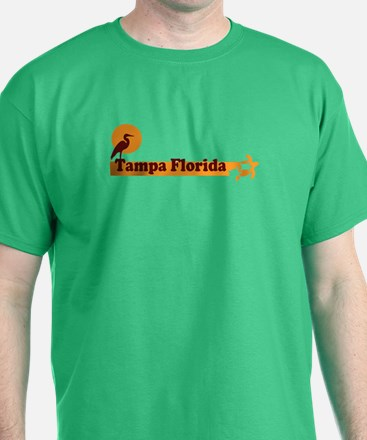 Tampa Florida - Beach Design. T-Shirt