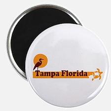 Tampa Florida - Beach Design. Magnet
