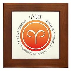Aries Framed Tile
