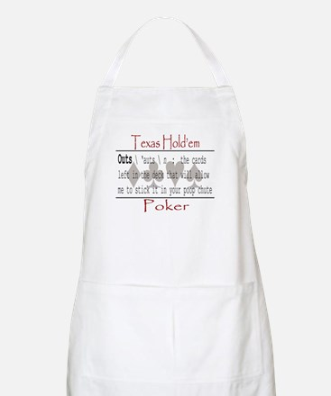Hold'em Definitions: Outs BBQ Apron
