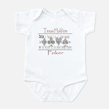 Hold'em Definitions: Outs Infant Bodysuit