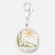Vintage Arizona Cactus and Sun Charms