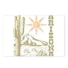 Vintage Arizona Cactus and Sun Postcards (Package