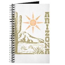 Vintage Arizona Cactus and Sun Journal