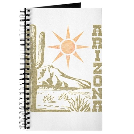 Vintage Arizona Cactus and Sun Journal