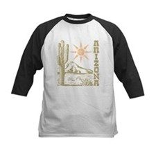 Vintage Arizona Cactus and Sun Baseball Jersey