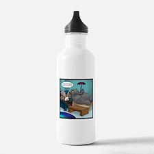 Rains Down In Africa Elephant Water Bottle
