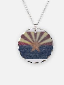 Faded Arizona State Flag Necklace