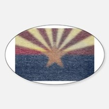 Faded Arizona State Flag Decal