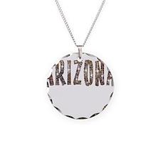 Arizona Coffee and Stars Necklace
