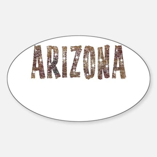 Arizona Coffee and Stars Decal