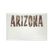 Arizona Coffee and Stars Rectangle Magnet