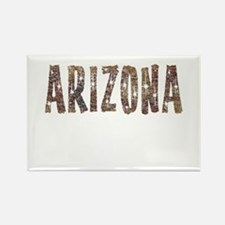 Arizona Coffee and Stars Rectangle Magnet