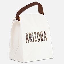 Arizona Coffee and Stars Canvas Lunch Bag