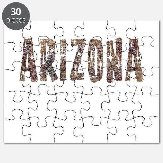 Arizona Coffee and Stars Puzzle