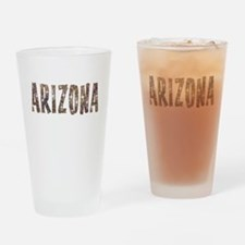 Arizona Coffee and Stars Drinking Glass