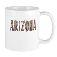 Arizona Coffee and Stars Small Mug