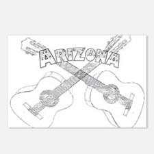 Arizona Guitars Postcards (Package of 8)