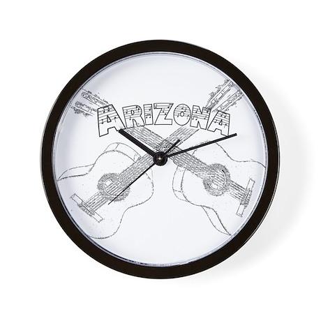 Arizona Guitars Wall Clock