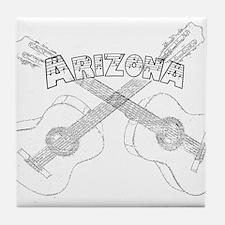Arizona Guitars Tile Coaster