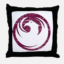Vintage Phoenix Throw Pillow