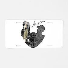 Arizona Fishing Aluminum License Plate