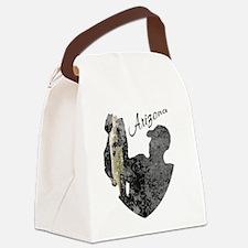 Arizona Fishing Canvas Lunch Bag