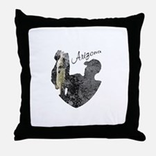 Arizona Fishing Throw Pillow