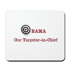 Targetor-in-Chief Mousepad