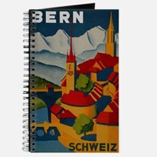 Vintage Bern Switzerland Travel Journal