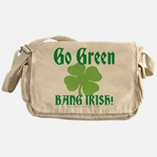 Go Green Bang Irish Messenger Bag