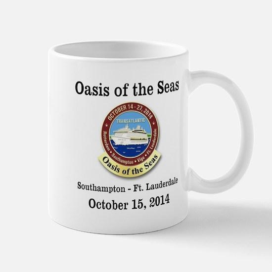 Oasis Southampton Mug